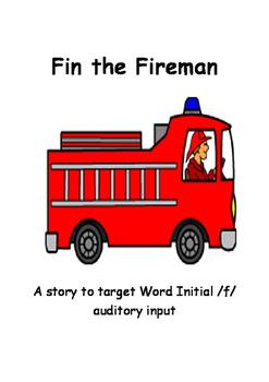 Fin the Fireman - articulation story