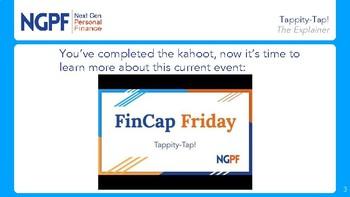 FinCap Friday: Tappity-Tap