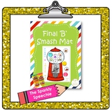 Articulation: Final 'B' Play Dough Smash Mat