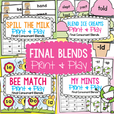 Blends Game Pack - Final Blends / cvcc words