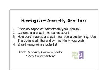 Final Blends Blending Cards