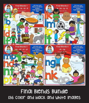 Clip Art - Final Blends Bundle