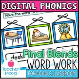 Digital Phonics Activities Final Blends Ending Blends Word