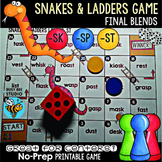 Final Blends Game Snakes and Ladders (sk, sp, st)