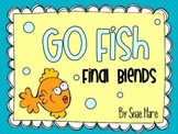 Final Blends {Go Fish} Word Work [Reading] Station Center Game