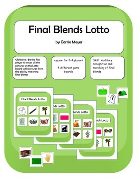 Final Blends Lotto Game