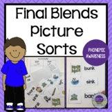 Final Blends Picture Sorts