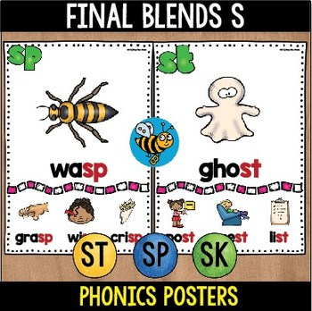 Final Blends -S- Posters