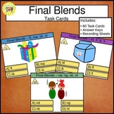 Final Blends Task Cards
