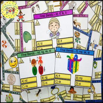 Final Blends Task Cards