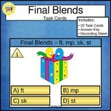 Final Blends Task Cards ft mp sk st