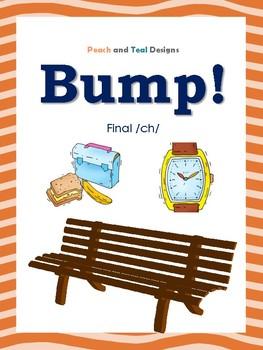 Final CH Articulation Bump! File Folder Game