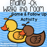 -CK at the end of a Word  | Game & Printables