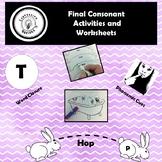 Final Consonant Activities