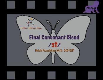 Final Consonant Blend /st/