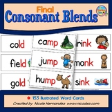 Final Consonant Blends -{153 Illustrated Word Cards}