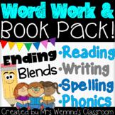 Final Consonant Blends (Ending Blends) Word Work & Book Pack!