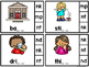 "Final Consonant Blends ""M"" and ""N"" Clip Cards"