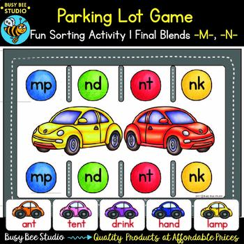 Final Consonant Blends MP, NK, ND, NT Game