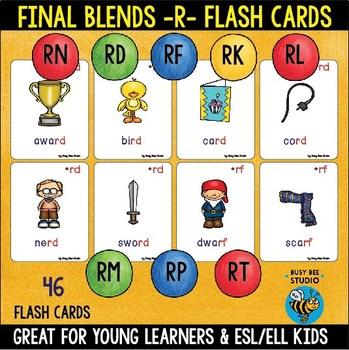 ESL Phonics Resources: Final Blends R  -rd -rf -rk -rl -rm