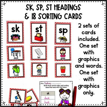 Ending Blends SK, SP, ST
