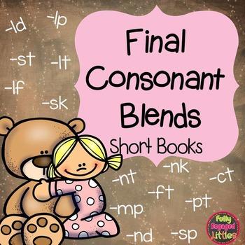Final Consonant Blends Short Books