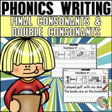 Final Consonant Blends and Double Consonant Endings Writin