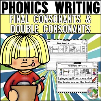 Final Consonant Blends and Double Consonant Endings Writin