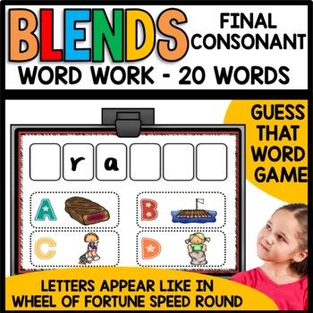 Final Consonant Blends (ct, ft, pt, xt)