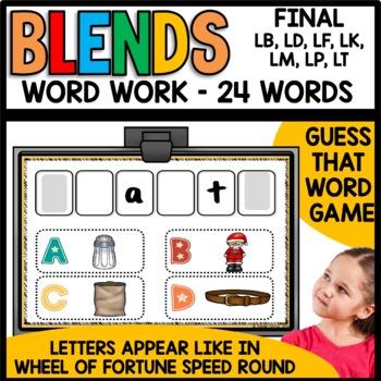 Final Consonant Blends (lb, ld, lf, lk, lm, lp, lt)