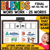 Final Consonant Blends (mp, nd, nk, nt)