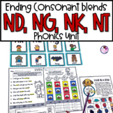 Final Consonant Blends   ND NG NK NT   N Ending Blends