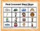 Final Consonant Blends -nt, -nd, -nk Bingo Game