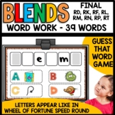 Final Consonant Blends (rd, rk, rf, rl, rm, rn, rp, rt)