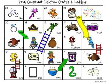 Final Consonant Deletion Multi-Level Activities