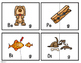 Final Consonant Deletion Puzzle Cards for k g f v s z