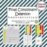 Final Consonant Deletion