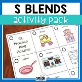 S Blends Activity Pack