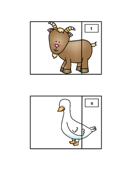 final consonant deletion animal tails by speech and phonological fun