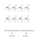 Final Consonant Deletion /t/, /g/