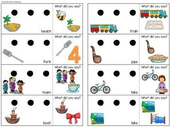 Final Consonant Deletion {Phonology Fun!}