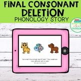 Final Consonant Deletion Phonology Story | DIGITAL | No Print