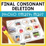 Final Consonant Deletion Photo Smash Mats