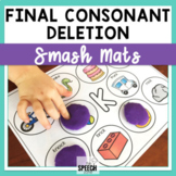 Final Consonant Deletion Picture Word Mats