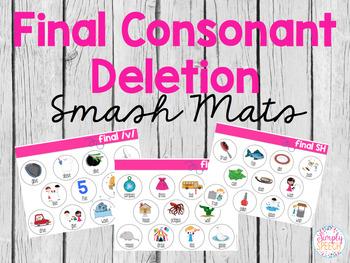 Final Consonant Deletion Smash Mats