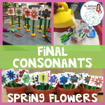 Final Consonant Deletion: Spring Flowers