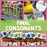 Final Consonant Deletion: Spring Flowers