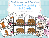 Final Consonant Deletion Activity