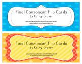 Final Consonant Flip Cards