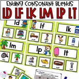 Final Consonant L Blends LD, LF, LK, LP, LT Unit